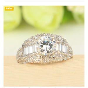 Jewelry - High Quality White Cz Wedding Ring